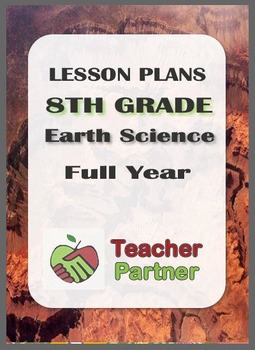 Lesson Plans: 8th Grade Earth Science Full Year