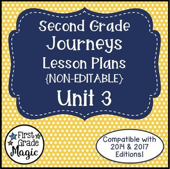 Lesson Plans Journeys Second Grade Unit 3