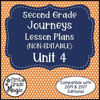 Lesson Plans Journeys Second Grade Unit 4