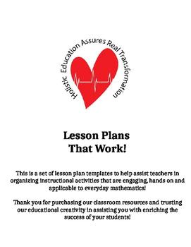 Lesson Plans That Work