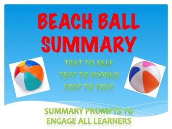 SUMMARY ACTIVITY: Beach Ball Exit Slip
