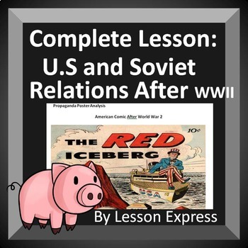 United States and Soviet Union relations after World War 2