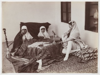"""Lesson for """"Size 6: The Western Woman's Harem"""" by Fatema Mernissi"""