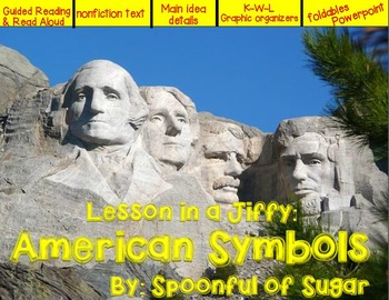 Lessons in a Jiffy: American Symbols (Nonfiction/Shared/Gu