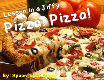 Lessons in a Jiffy:Pizza! Pizza! (Guided/Shared Reading Bo