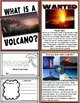 Lessons in a Jiffy: Volcanoes (Guided readers, foldables,