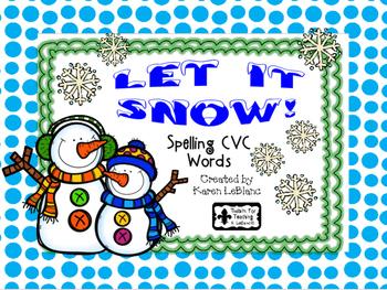 Let It Snow - CVC WORDS