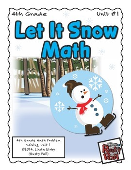 Let It Snow - Math Problem Solving – 4th Grade (Winter, Ch