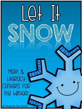 Winter Centers - Math & Literacy