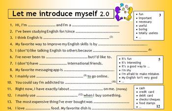 Let Me Introduce Myself 2.0