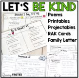 Let's Be Kind - Kindness Mini-Unit for Back to School & Beyond