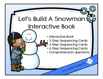 Let's Build A Snowman An Interactive Book with Companion A