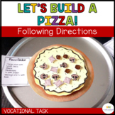 Let's Build a Pizza: Sequencing Vocational Tasks (Special