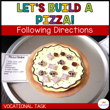 Let's Build a Pizza: Sequencing Vocational Tasks (Special Education*Autism)