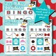 Let's Build a Snowman 3x3 Bingo 30 Cards