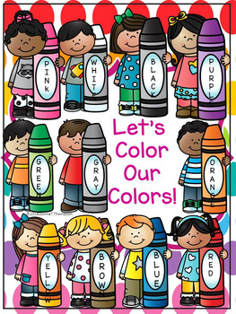 Let's Learn Colors: Coloring (No Prep Worksheets)