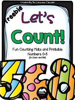 Let's Count: Mats and Printables (Freebie)
