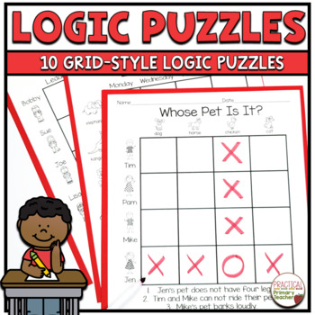 Let's Get Logical-Logic Puzzles for Primary Students