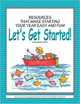 Let's Get Started! Fabulous Fish (Spanish text)