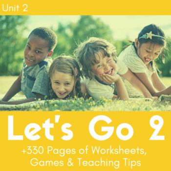 Let's Go 2 - Unit 2 Worksheets