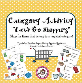 Let's Go Shopping for Categories!