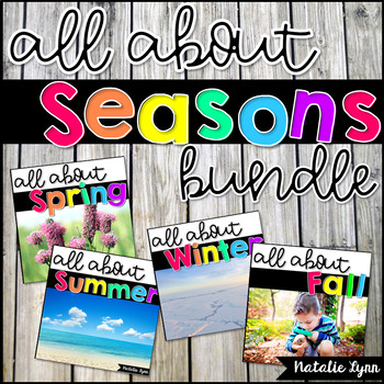 Let's Learn About the Seasons - The Bundle
