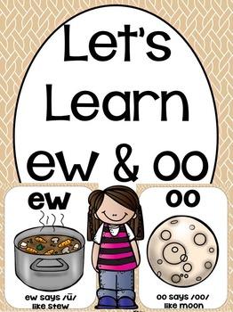 Let's Learn Oo & Ew (a phonics unit)
