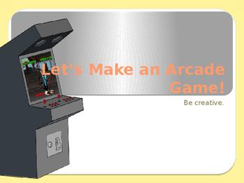 Let's Make An Arcade Game