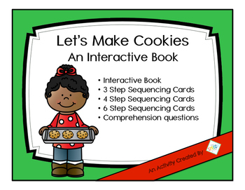 Let's Make Cookies An Interactive Book with Companion Activities