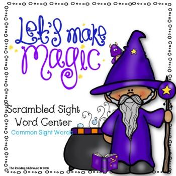 Let's Make Magic - Scrambled Sight Word Game