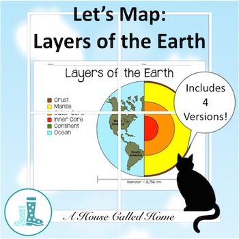 Let's Map: Layers of the Earth