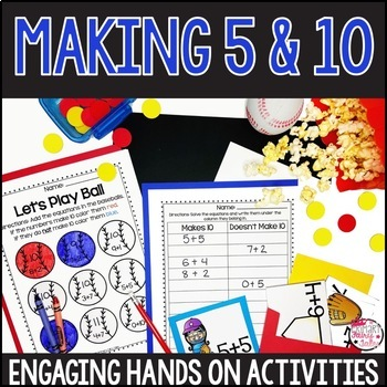 Making 5 and 10 Activities