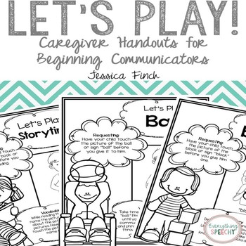 Let's Play: Handouts for Parents/Caregivers of Beginning C