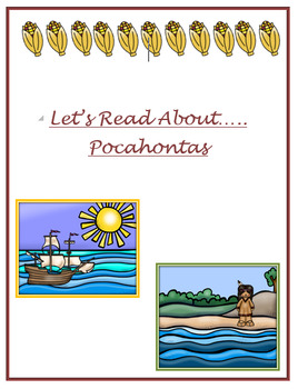 Let's Read About....Pocahontas
