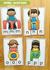 Alphabet Sorting and Spelling Puzzles! Word Building for B