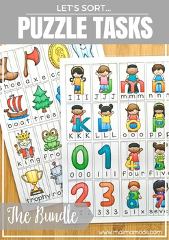 Word Sorting and Spelling Puzzles for Basic Language Pract