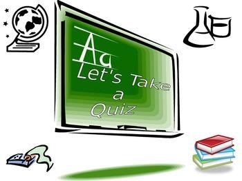 Let's Take a Quiz