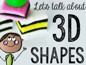 Let's Talk About 3-D Solid Shapes: Interactive Read-Aloud