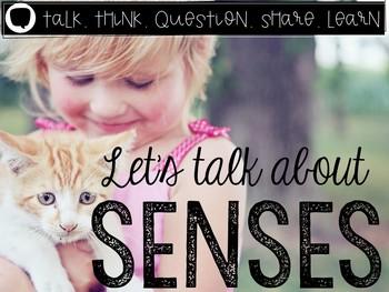 Let's Talk About Our Five Senses: Interactive Read-Aloud P