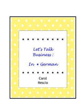 Let's Talk Business:  In*German