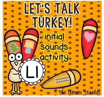 Let's Talk Turkey - Initial Sounds
