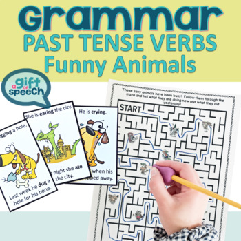 #Octslpmusthave Let's Talk about Past Tense Verbs Activities