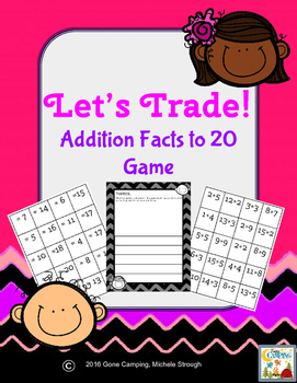 Let's Trade!  Addition Facts to 20