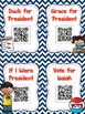 Let's Vote: Election Listen to Reading QR Codes and No Pre