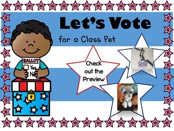 Let's Vote for a Class Pet!