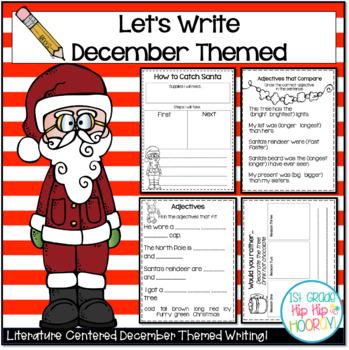 Let's Write...December...ELA CCSS