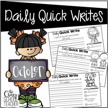 Daily Quick Writes {October}