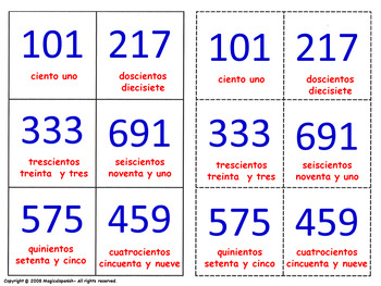 "Let's learn and review ""bigger numbers (thousands)"". Lotte"