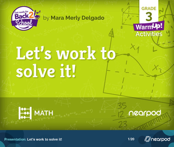 Let's work to solve it!