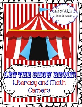 Let the Show Begin!  Literacy and Math Centers for 1st Grade